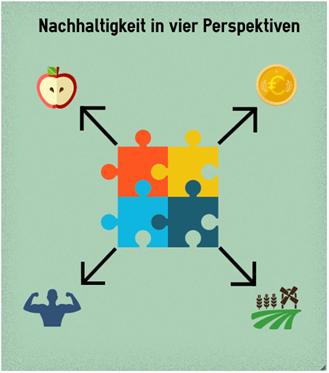 4 Perspektiven der Nachhaltigkeit nur Grafik